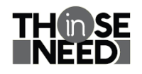 Those in need logo