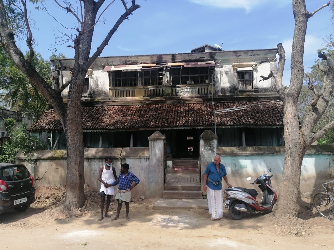My 100 year-old ancestral home at my native village